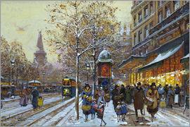 Eugene Galien-Laloue - Place de la Republique, Paris