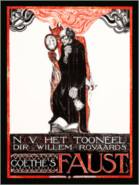 Richard Roland Holst - Poster for Goethes Faust