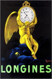 Leonetto Cappiello - Poster for Longinus Watches