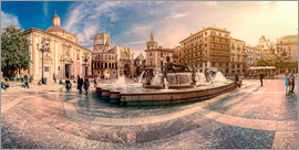 Hessbeck Photography - Plaza de la Virgen panoramic, Valencia