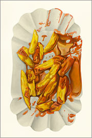Dieter Ziegenfeuter - French fries with ketchup