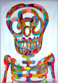 Diego Manuel Rodriguez - Pop Art Skeleton