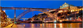 Fine Art Images - Porto Portugal, bridge Dom Luis