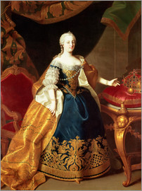 Martin Mytens - Portrait of the Empress Maria Theresa of Austria