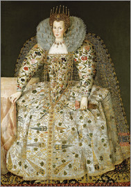 English School - Portrait of a Lady