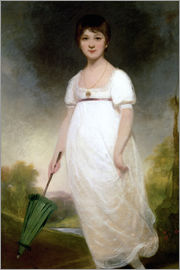 Ozias Humphry - Portrait of Jane Austen