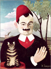 Henri Rousseau - Portrait of Pierre Loti