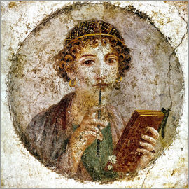 Portrait of Sappho