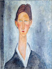 Amedeo Modigliani - Portrait of a Student