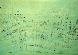 Paul Klee - Prehistoric Vegetation, 1920