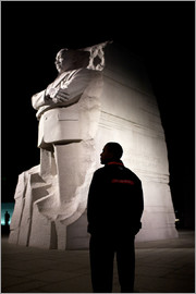 President Barack Obama tours the Martin Luther King, Jr. National Memorial in Washington, D.C.