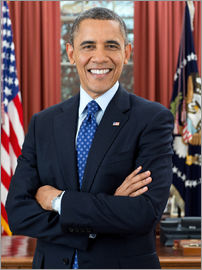 President Barack Obama in Portrait