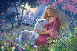 Steve Read - Princess with foal