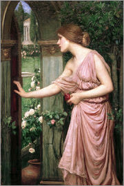 John William Waterhouse - Psyche Opening the Door into Cupid's Garden