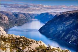 Jim Nix - Pulpit Rock, Lysefjord view, Stavanger, Norway, Scandinavia, Europe
