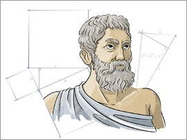 Harald Ritsch - Pythagoras, Ancient Greek mathematician