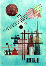 Wassily Kandinsky - Across and Up