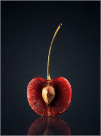 Johan Swanepoel - Cross-section of one red cherry