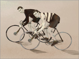 Paolo Niutta - twin cyclists