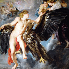 Peter Paul Rubens - Abduction of Ganymede