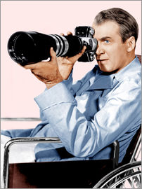 REAR WINDOW, James Stewart, 1954