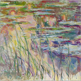 Claude Monet - Reflections on the Water