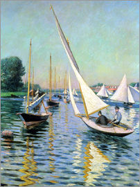 Gustave Caillebotte - Regatta at Argenteuil