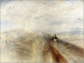 Joseph Mallord William Turner - Rain, Steam and Speed
