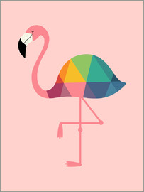 Andy Westface - Rainbow Flamingo