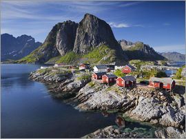Rainer Mirau - Reinefjordens red cottages