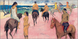 Paul Gauguin - Rider on Beach