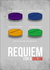 HDMI2K - Requiem for a Dream - Minimal Movie Poster Alternative