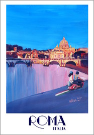 M. Bleichner - Retro Vespa in Rome to Vatican City