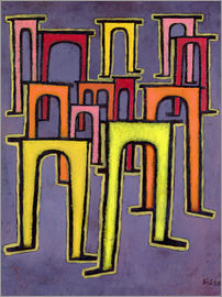 Paul Klee - Revolution of the Viaduct