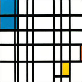 Piet Mondrian - Rhythm of the Straight Lines