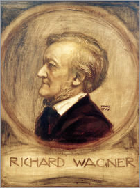 Franz von Stuck - Richard Wagner