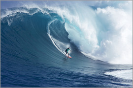 Ron Dahlquist - Giant wave off Maui