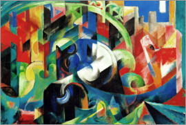 Franz Marc - Cows (Painting with Cows I)