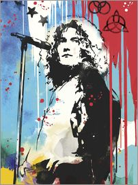 2ToastDesign - Robert plant led zeppelin art print