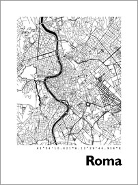44spaces - Rome City Map HF 44spaces