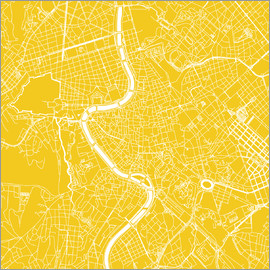 44spaces - Rome city map Q sun