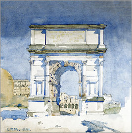 Charles Rennie Mackintosh - Arch of Titus, Rome