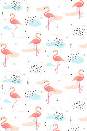 Kidz Collection - Pink flamingos