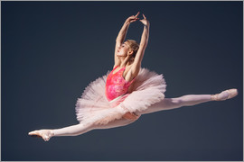pink tutu and pointe shoes