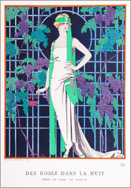 Georges Barbier - Roses in the Night