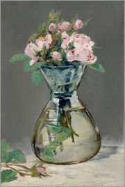 Edouard Manet - Roses in a vase