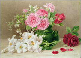 Mary Elizabeth Duffield - Roses and Lilies