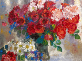Augusto Giacometti - red roses