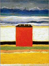 Kasimir Sewerinowitsch  Malewitsch - The red house