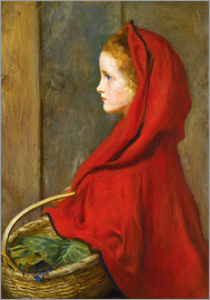 Sir John Everett Millais - Red Riding Hood